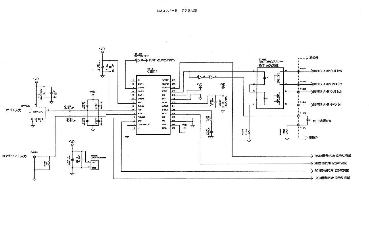 eifl original da converter with tube buffer